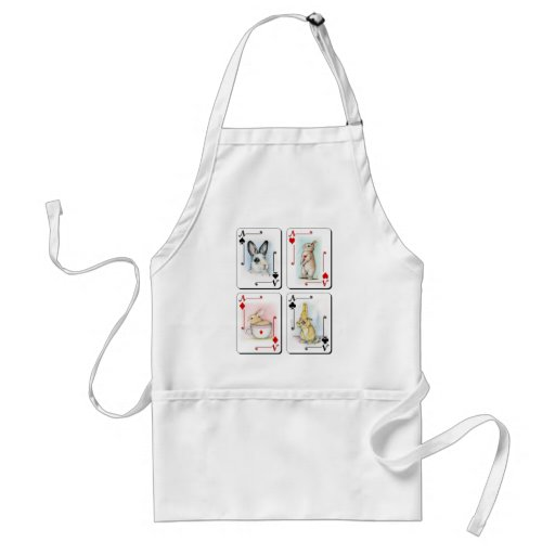 Four of a Kind Adult Apron
