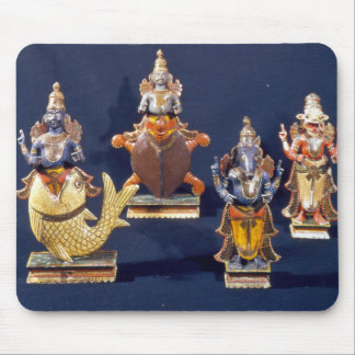 Four of the incarnations of Vishnu Mouse Pad