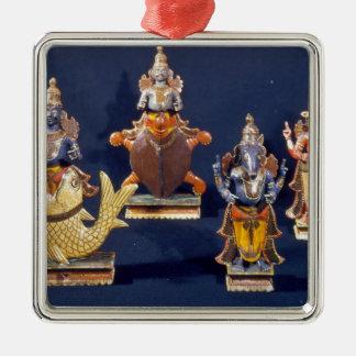 Four of the incarnations of Vishnu Ornament