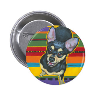 Four on the Floor on a Serape Buttons