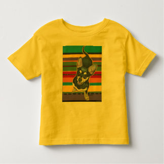 Four on the Floor on a Serape Toddler T-shirt