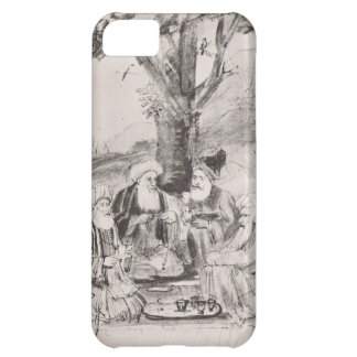 Four Orientals seated under a tree by Rembrandt Case For iPhone 5C