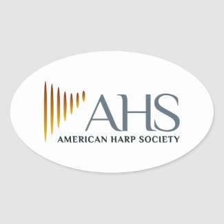 Four Oval AHS Stickers