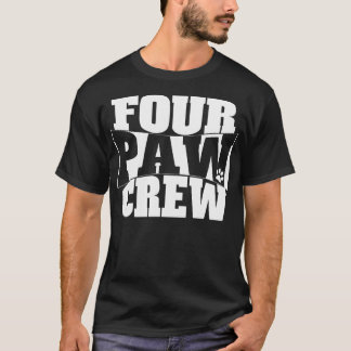 Four Paw Crew T-Shirt
