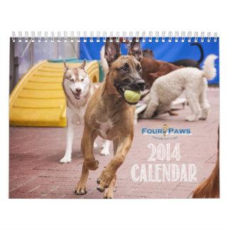 Four Paws 2014 Calendar