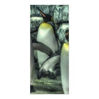 Four Penguins Card