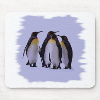 Four Penguins Mouse Pad
