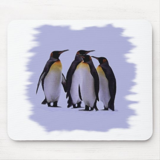 Four Penguins Mouse Pad