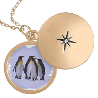 Four Penguins Pendant
