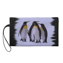 Four Penguins Wristlet
