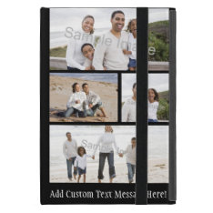 Four Photo Collage Cover For Ipad Mini at Zazzle