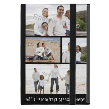 Four Photo Collage Cover For iPad Mini