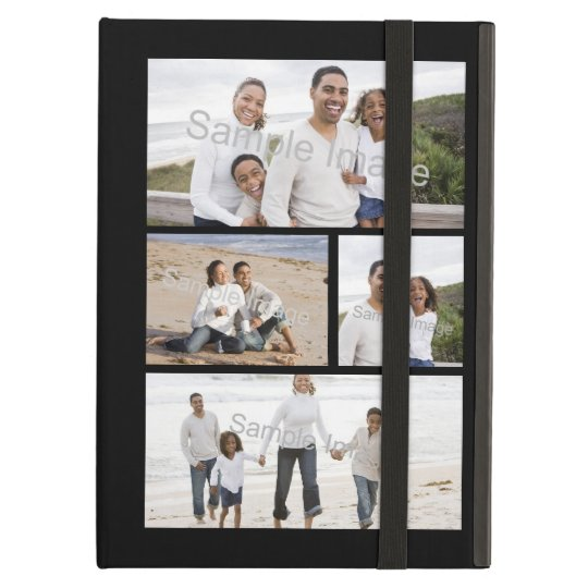 Four Photo Collage iPad Air Covers