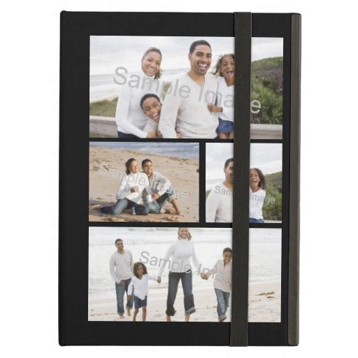 Four Photo Collage iPad Covers