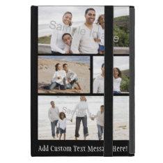 Four Photo Collage iPad Mini Cover at Zazzle