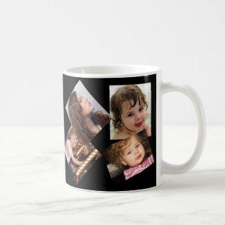 Four Photo Collage Template Coffee Mug