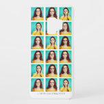 """Four Photo or Selfie Collage. Recoleto Filter. Case-Mate Samsung Galaxy S9 Case<br><div class=""""desc"""">Take your selfies or headshots and add to this sherpa.  Available here: http://www.zazzle.com/produkto</div>"""