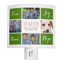 four photos collage custom nightlights night light