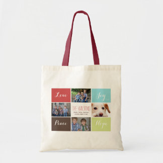 four photos collage Mod photo bags