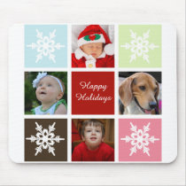 four photos collage Mod photo mousepad
