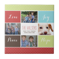 four photos collage Mod photo tile