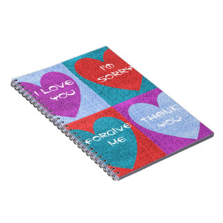 Four Phrases Note Book