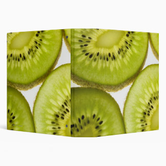 Four pieces of sliced kiwi binder