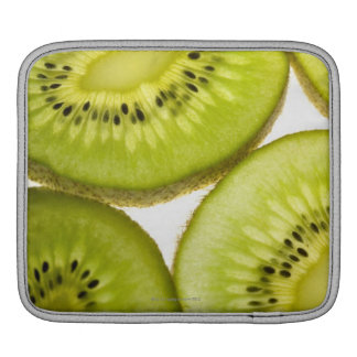 Four pieces of sliced kiwi sleeve for iPads