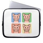 Four Pigs Laptop Computer Sleeve