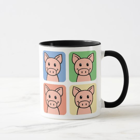 Four Pigs Mug