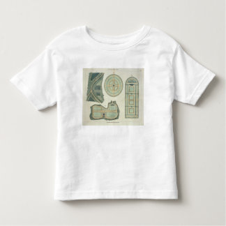Four Plans for Kitchen Gardens, from 'Hints on the Toddler T-shirt