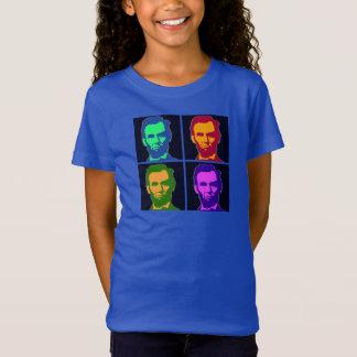 Four Pop Art Abraham Lincolns T-Shirt