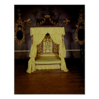 Four Poster Bed, in the Chinese style, 1750s