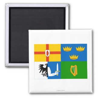 Four-Province Flag 2 Inch Square Magnet