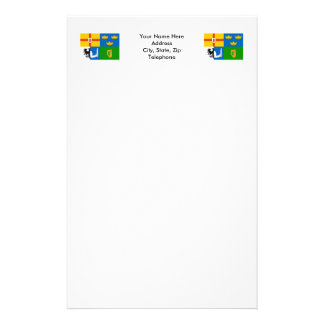 Four-Province Flag Stationery