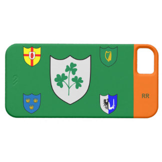 Four Provinces Of Ireland and Shamrock iPhone 5 iPhone SE/5/5s Case