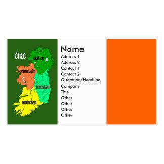 Four Provinces of Ireland Business Cards
