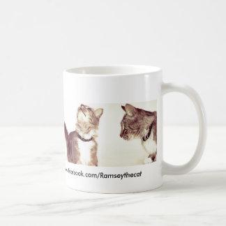 Four Ramseys Classic White Coffee Mug