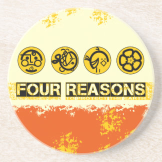 Four Reasons To Protect The Earth Beverage Coaster