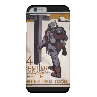 Four rest homes behind_Propaganda Poster Barely There iPhone 6 Case