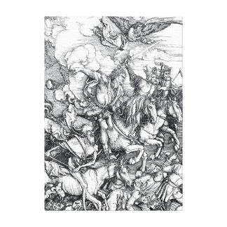 Four Riders of the Apocalypse - Albrecht Durer Canvas Prints