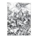 Four Riders of the Apocalypse - Albrecht Durer Canvas Print