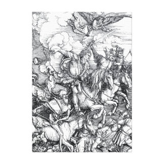 Four Riders of the Apocalypse - Albrecht Durer Canvas Print