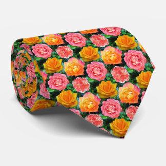 Four Roses Neck Tie