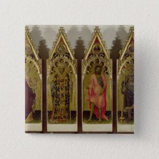 Four Saints from the Quaratesi Polyptych: Mary Mag Button