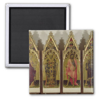 Four Saints from the Quaratesi Polyptych: Mary Mag Magnet