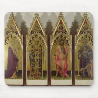 Four Saints from the Quaratesi Polyptych: Mary Mag Mouse Pad