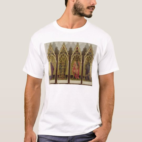 Four Saints from the Quaratesi Polyptych: Mary Mag T-Shirt