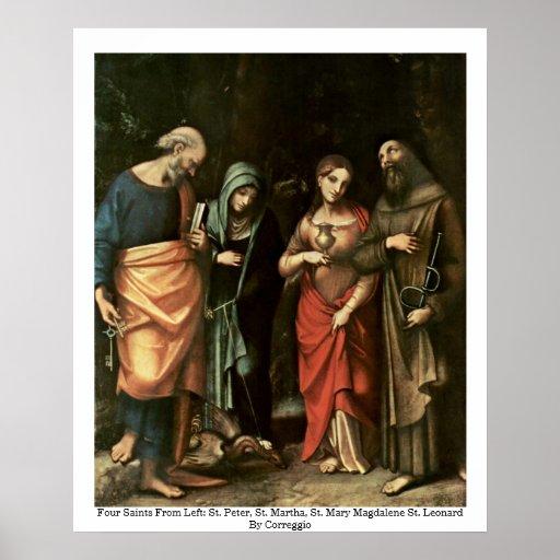 Four Saints Poster