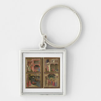 Four Scenes from the Life of St. Nicholas: St. Nic Key Chains